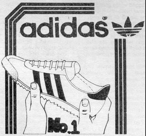 adidas: #1 shoe (ad from 1976)