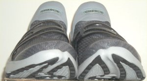 "Front view of Nike Air Trainer Escape iD showing ""Charlie"" on tongue area"