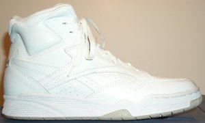 "Reebok BB4600 ""Ultra"" basketball sneaker: all white"