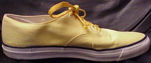 Sperry Top-Sider yellow deck sneaker