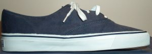 Sperry Top-Sider navy canvas boat sneaker