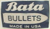 "Vintage Bata Bullets ""Made in USA"" heel patch"