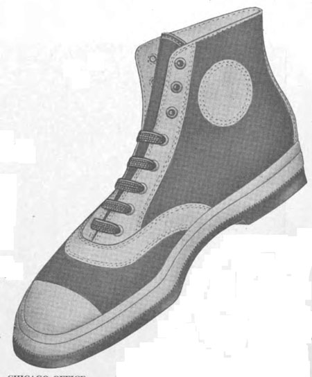 1922 Camco Athletic Bal high-top sneaker