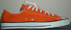 "Converse ""Chuck Taylor"" All Star Burnt Orange low-top"