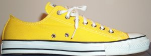 "Converse ""Chuck Taylor"" All Star Yellow low-top"