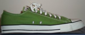"Converse ""Chuck Taylor"" All-Star Bamboo Green low-tops"
