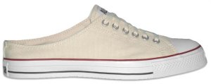"Converse ""Chuck Taylor"" All-Star unbleached white mule"