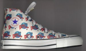 "Converse ""Chuck Taylor"" All-Star high-top in ""Planet Hollywood®"" pattern"