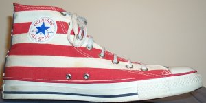"Converse ""Chuck Taylor"" All-Star ""Stars and Bars"" high-top"