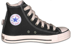 "Converse ""Chuck Taylor"" All Star Hemp high-top sneaker in black"