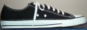 "Converse ""Chuck Taylor"" All Star black low-top"