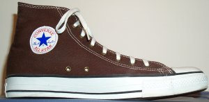 "Converse ""Chuck Taylor"" All Star high-top, Hot Chocolate Brown"