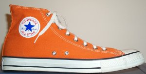 "Converse ""Chuck Taylor"" All Star Burnt Orange high-top"