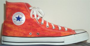 "Converse ""Chuck Taylor"" All Star Orange Tie Dye high-top"