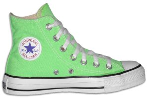 "Converse ""Chuck Taylor"" All Star high-top in Neon Green"