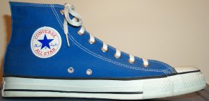 "Converse ""Chuck Taylor"" All Star Bright Blue high-top"