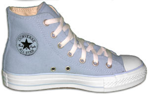 "Converse ""Chuck Taylor"" All Star Fleece High sneaker in Winter Blue"
