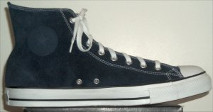 "Converse ""Chuck Taylor"" All Star high-top sneaker in Navy Blue suede"