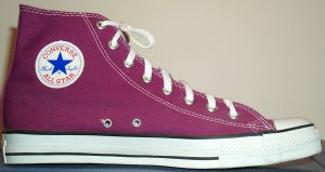 "Converse ""Chuck Taylor"" All Star high-top sneaker in purple"