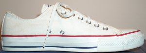 "Converse ""Chuck Taylor"" All-Star optical white low-top"