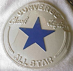 "Converse ""Chuck Taylor"" All Star high-top ankle patch - unknown vintage"