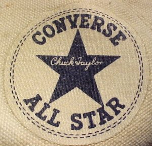 Converse 'Chuck Taylor' All Star high-top ankle patch - 1950s