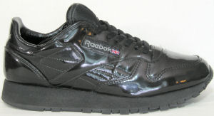 Reebok Classic 2000 in black patent leather