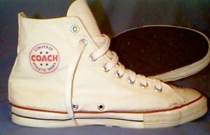 Converse COACH white high-top