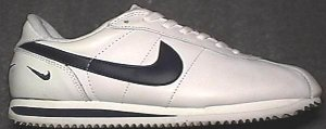 Nike Cortez Leather sneaker in white with black SWOOSH