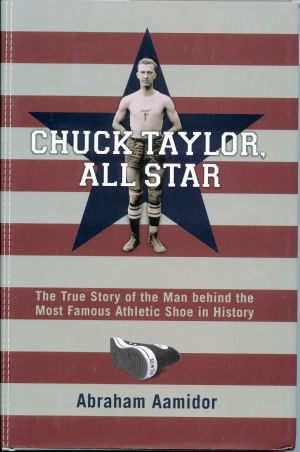 "The cover of the ""Chuck Taylor, All Star"" book"