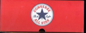 "A Converse ""Chuck Taylor"" All-Star box top from the past"