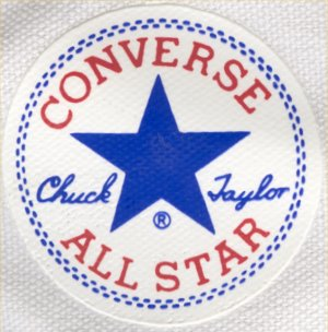 "Converse ""Chuck Taylor"" All Star ankle patch - Indonesian version"