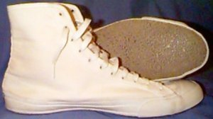 "Converse ""Chuck Taylor"" Wrestling Shoe (white)"