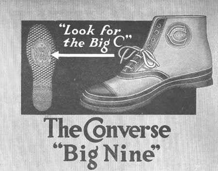 "1919 Converse ""Big Nine                                                                                            "" high-top sneaker"