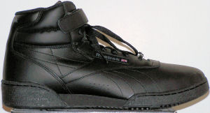 Reebok Ex-O-Fit Absolute SE black high-top fitness shoe for guys