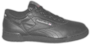Reebok Ex-O-Fit black low-top fitness shoe for guys