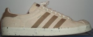 "The adidas ""Gazelle Natural"" shoe in natural hemp brown"