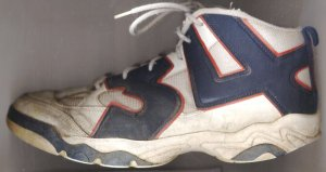 "Spalding ""Hakeem the Dream"" basketball shoe (Hakeem Olajuwon)"