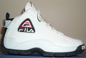 Outside view of the Fila Grant Hill 2 basketball shoe