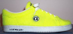 "Airwalk tennis ball ""Jim Shoe"" shoe"