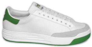 adidas Rod Laver tennis shoe (considered by many footbag players as ideal for the sport)