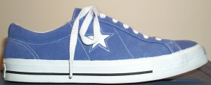 Converse One Star in Iris Blue