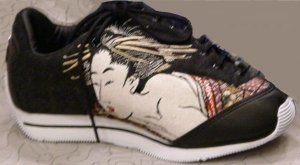 Acupuncture 'Soul of a Geisha' sneakers