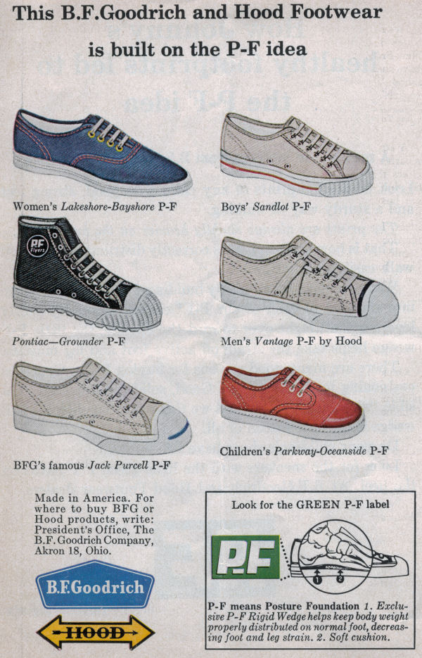 Picture of 1962 P-F Flyer sneakers