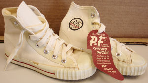 Vintage PF Flyers white high-tops