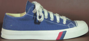 "PRO-Keds ""Royal Canvas"" low-top in blue"