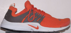 Nike Air Presto Plain iD shoe - orange, gray
