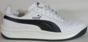 Puma GV Special tennis sneaker (white with black formstrip)