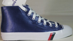 "PRO-Keds ""Royal Storm"" (water-resistant high top) in blue: outside view"