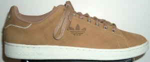 adidas Stan Smith suede shoe, brown